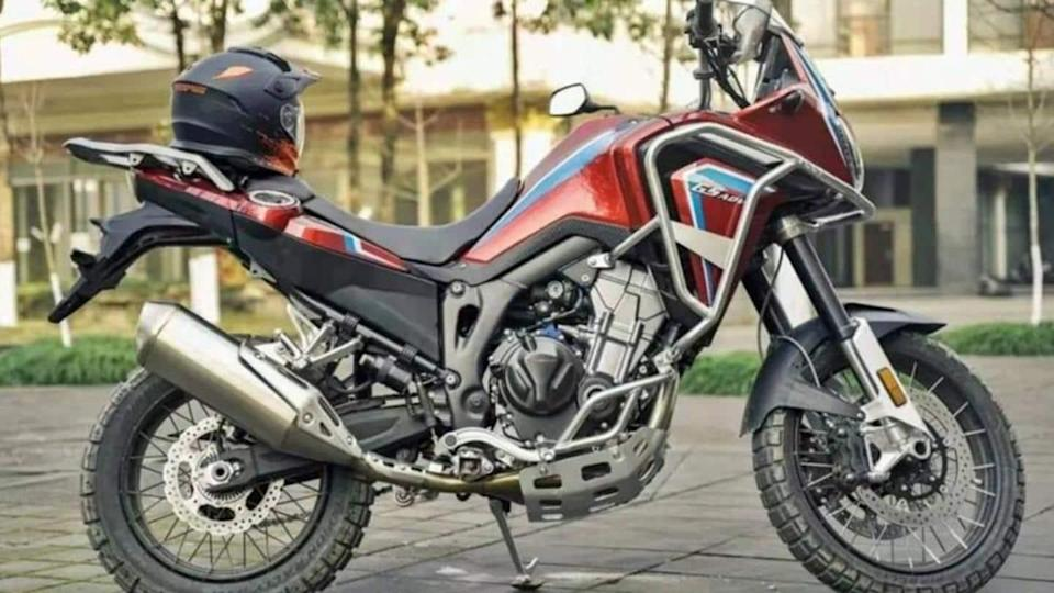 This Chinese bike is a doppelganger of Honda Africa Twin