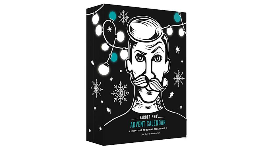 Barber Pro12 Days of Grooming Essentials Face Mask Advent Calendar