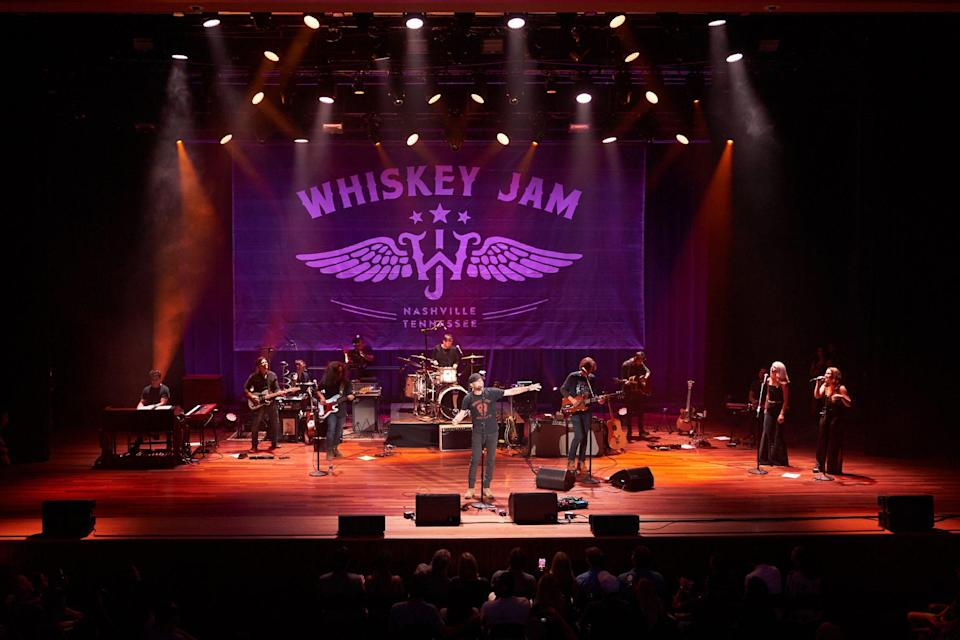 """<p>""""Jam Fam"""" for nearly the entire decade of Whiskey Jam's existence, Cole Swindell got the energy up early with his rousing """"Ain't Worth the Whiskey."""" </p>"""