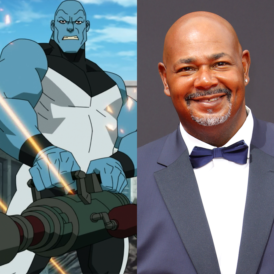 <p>Richardson's deep voice has been a staple in animation since the early '90s, and he fits in perfectly with <em>Invincible</em> as the villainous and constantly cloning Mauler Twins. Richardson provided his voice to movies like <em>Lilo and Stitch</em> and has voiced superheroes like Martian Manhunter through the years.</p>