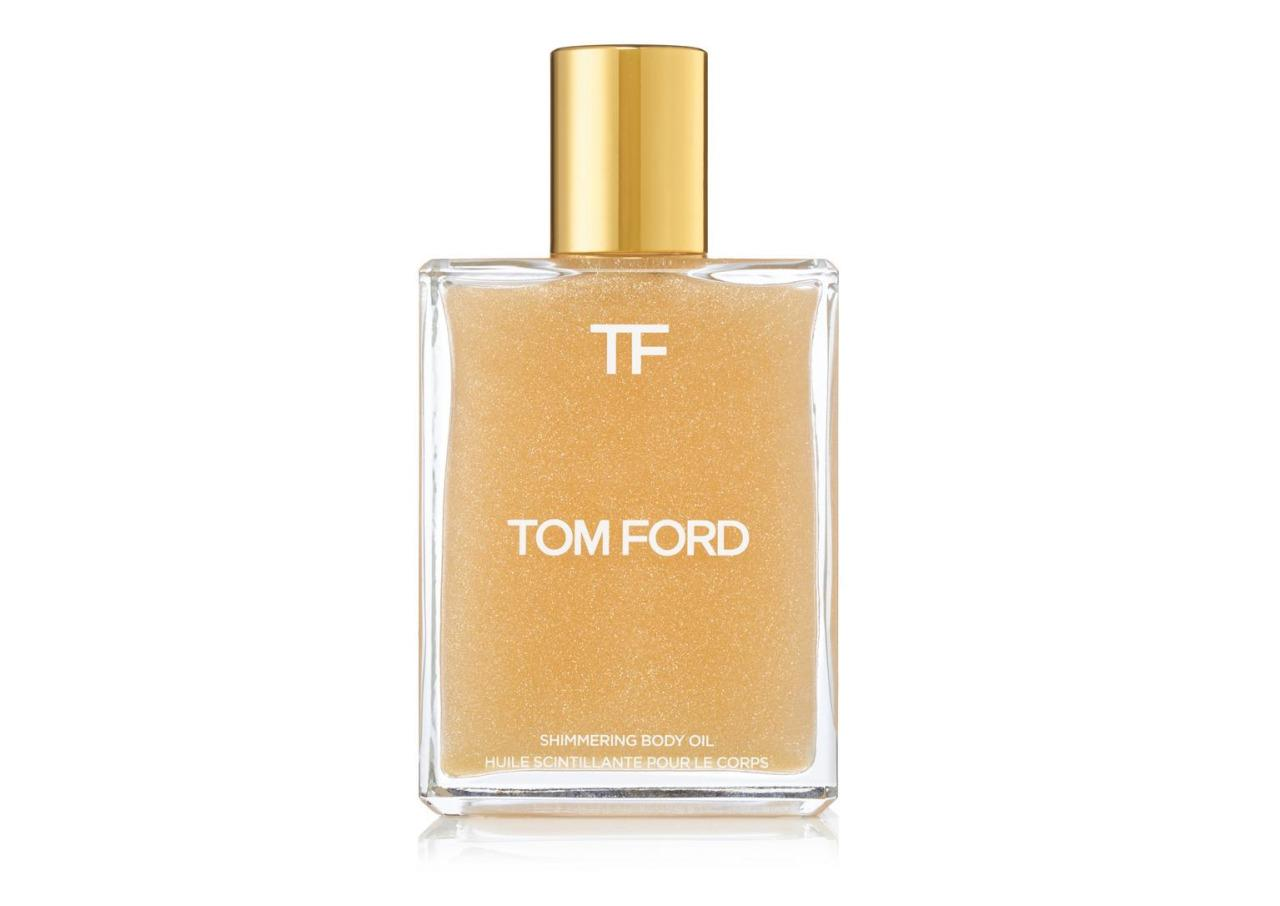 This is the ultimate summer luxury. Tom Ford's Shimmering Body Oil is summer in a bottle—not only will it leave skin shimmering and hydrated, but the smell (a combination of white florals, amber, and sandalwood) makes you feel like you spent the day at the beach. Tom Ford Shimmering Body Oil ($95)