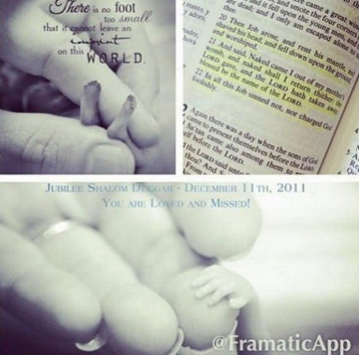 Jill Dillard posted a photo of her miscarried sister, Jubilee Duggar, that not everybody wanted to see.