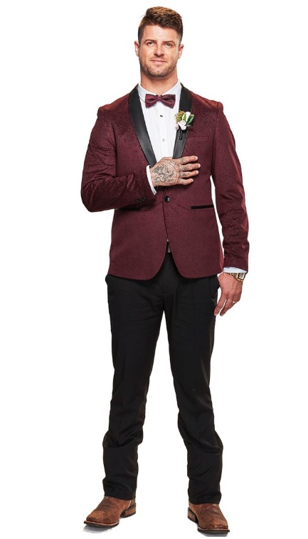 David has conquered the boxing ring, now he's taking on the wedding ring. Photo: Nine