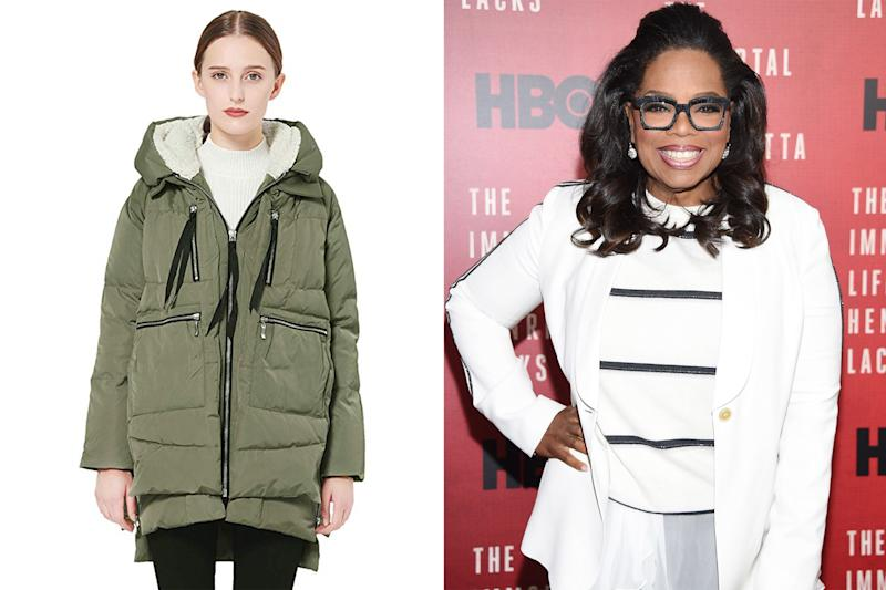 Oprah Is Officially a Fan of The Viral 'Amazon Coat' — and It's on Sale Right Now