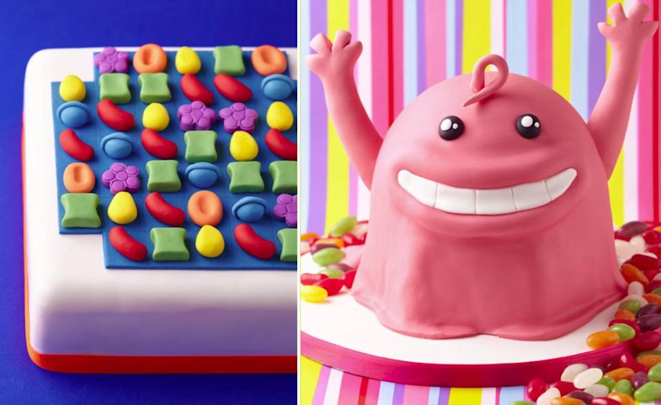 Addicted to Candy Crush Saga? Then this is the cookbook for you. (Photos: Candy Crush)