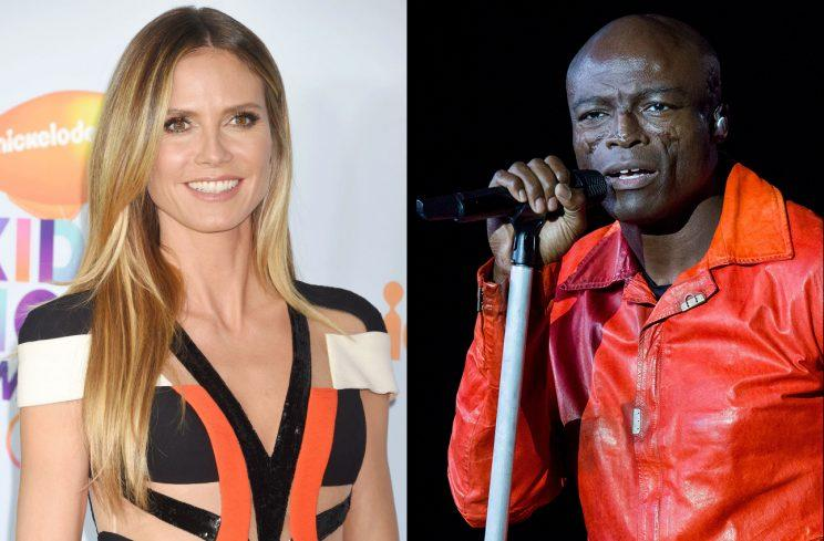 Heidi Klum shared a video of her ex, Seal, making music with their youngest child. (Photos: Getty Images)