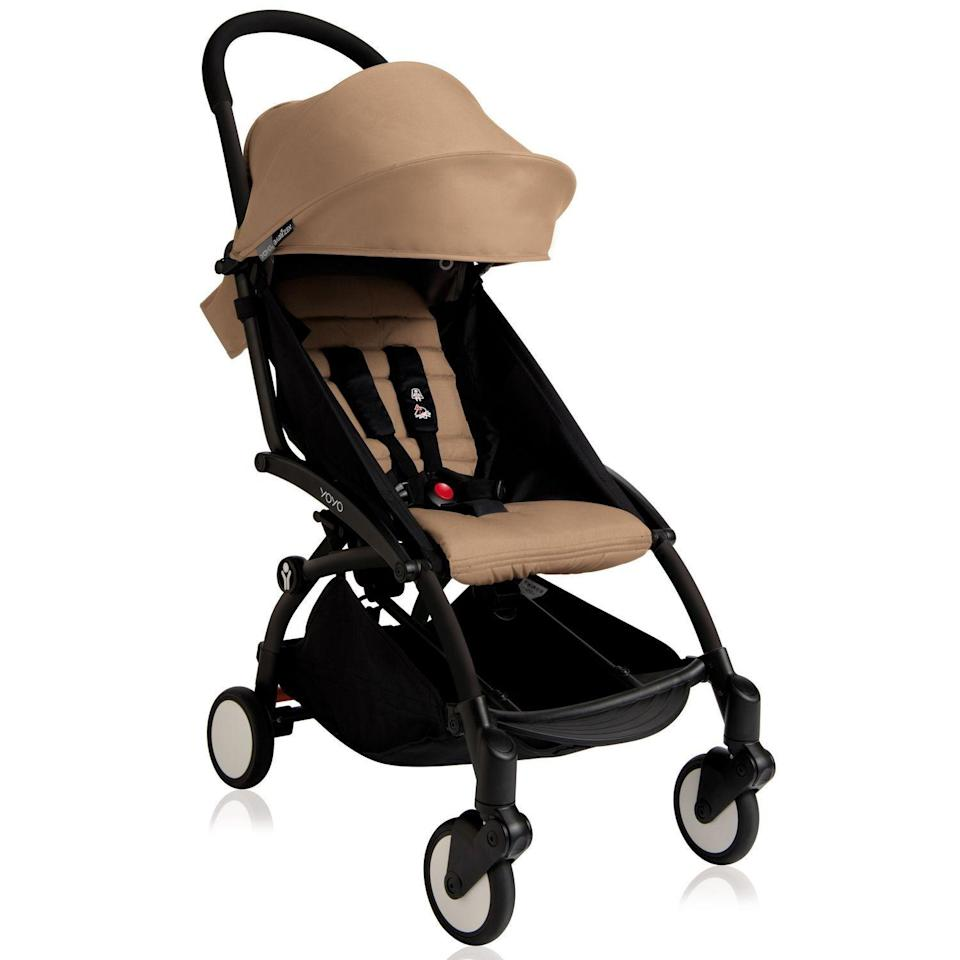 "<p><strong>Babyzen</strong></p><p>bloomingdales.com</p><p><strong>$499.99</strong></p><p><a href=""https://go.redirectingat.com?id=74968X1596630&url=https%3A%2F%2Fwww.bloomingdales.com%2Fshop%2Fproduct%2Fbabyzen-yoyo2-stroller-frame%3FID%3D3697054%26pla_country%3DUS%26CAWELAID%3D120156070010610815%26CAGPSPN%3Dpla%26CAAGID%3D71258569675%26CATCI%3Daud-359644284422%253Apla-382442650522%26cm_mmc%3DGoogle-PLA-ADC-_-All_Traffic_NB_tROAS-_-designer-_-3701244000630USA%26gclid%3DCj0KCQjw09HzBRDrARIsAG60GP8rpy0r536e0a0lk3C2SYr1xZIgjN-g2BFXloUdoqM9nEp60ePauc8aAjIGEALw_wcB&sref=https%3A%2F%2Fwww.goodhousekeeping.com%2Fchildrens-products%2Fbaby-stroller-reviews%2Fg31782776%2Fbest-lightweight-strollers%2F"" rel=""nofollow noopener"" target=""_blank"" data-ylk=""slk:Shop Now"" class=""link rapid-noclick-resp"">Shop Now</a></p><p>Our Lab experts specifically recommend the YOYO2 for travel for a couple reasons, including the fact that <strong>it can easily be worn over the shoulder via the carrying strap and can fit into overhead storage compartments</strong>. They also loved the compact size and that the seat cover can be removed for washing. Our experts say to just keep in mind that compared to other lightweight strollers, this one is a little trickier to fold. </p><p><strong><strong>• </strong>Stroller weight: </strong>14 pounds<strong><br><strong>• </strong>Weight limit</strong>: 40 pounds<br><strong><strong>• </strong>Ages</strong>: 6 months and up (0 months and up with add-on newborn pack)</p>"