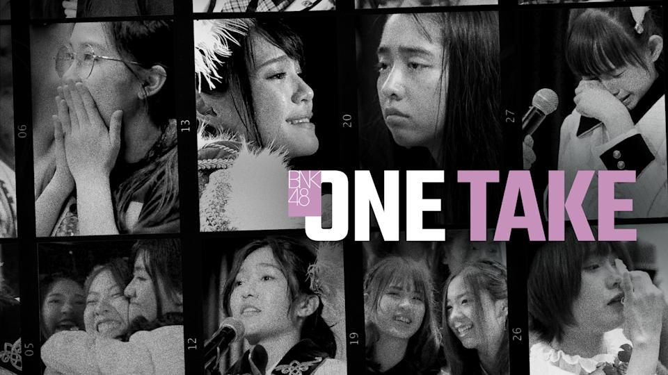 One Take follows the gruelling day-to-day lives of girls who audition for the mega girl band BNK48. (Photo: Netflix)