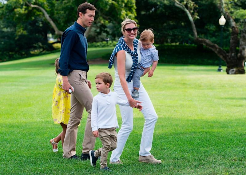Ivanka Trump, President Donald Trump's daughter and senior adviser, married husband Jared Kushner in 2009. They have three kids:6-year-old Arabella, 3-year-old Joseph, and 1-year-old Theodore, who was born last year in the midst of Donald Trump's presidential campaign.