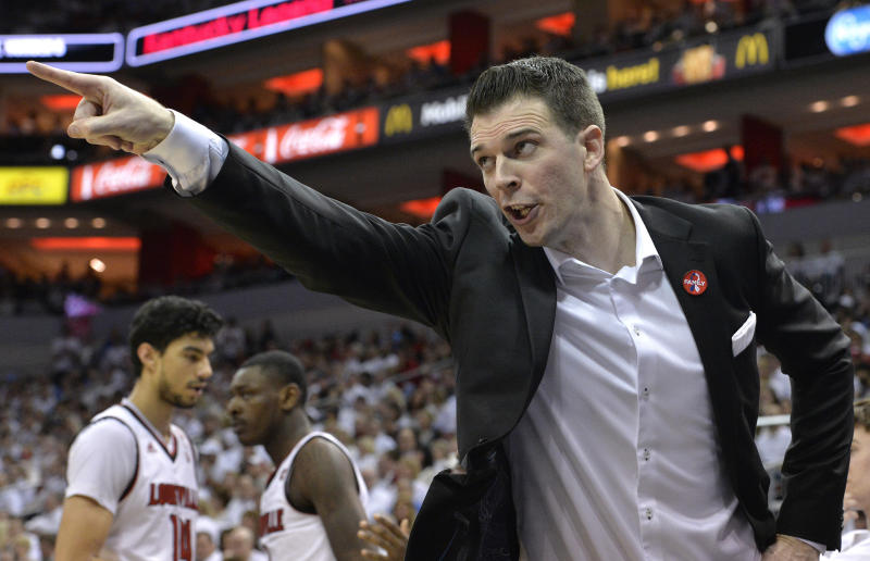Louisville interim head coach David Padgett will coach in the NIT. More