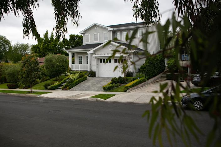 Zachary Horwitz's former home in Beverlywood.