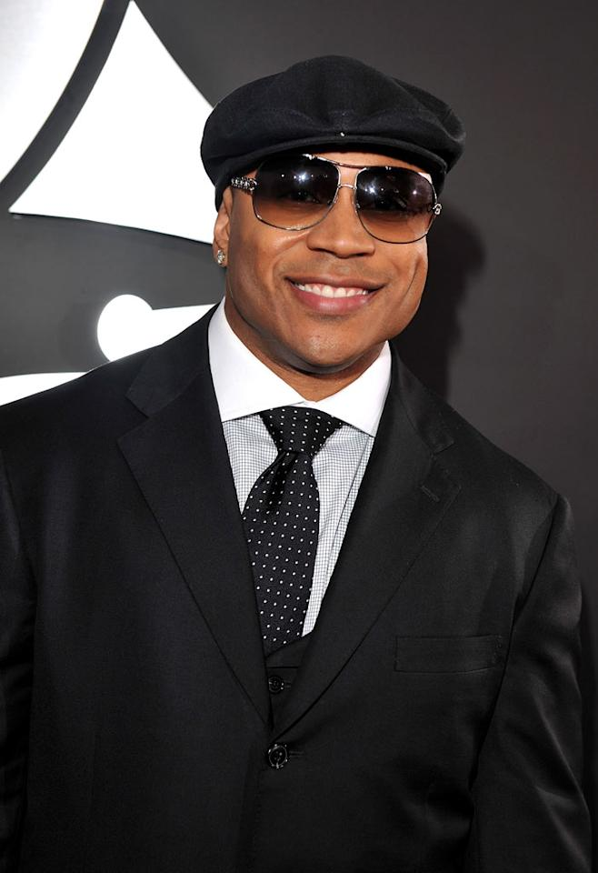 LL Cool J arrives at the 51st Annual Grammy Awards at the Staples Center on February 8, 2009, in Los Angeles.