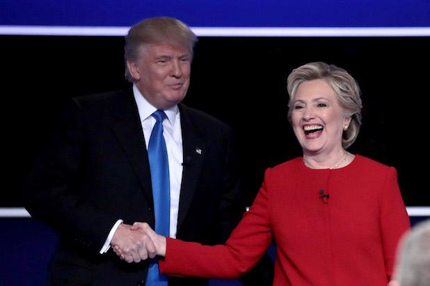 Clinton, Trump square off in first debate