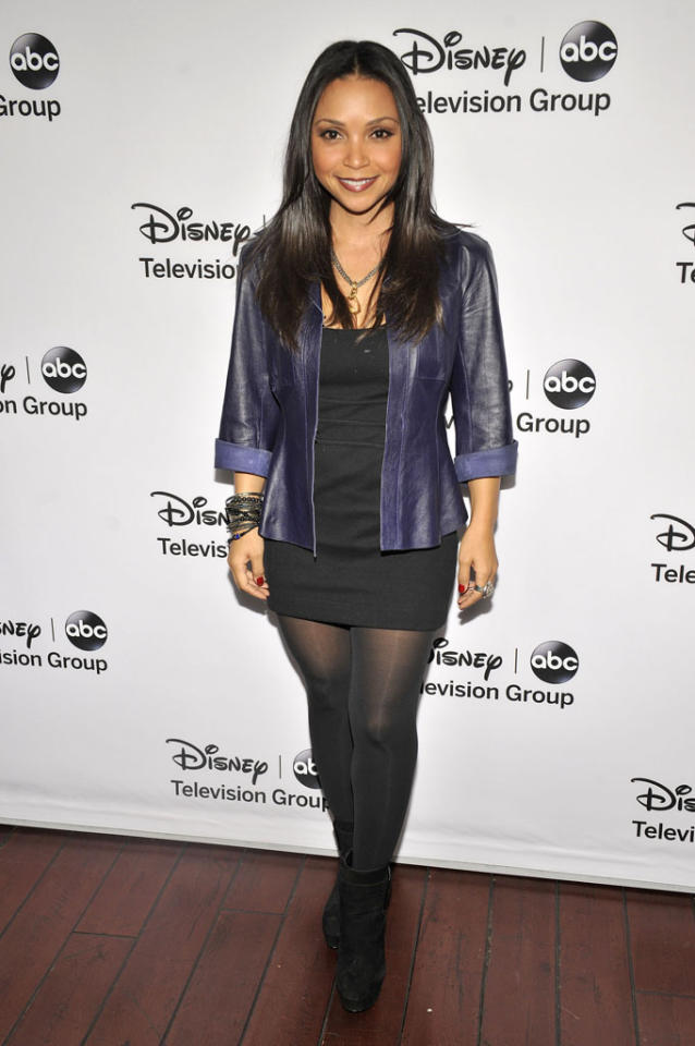 "Danielle Nicolet (""Family Tools"") attends the Disney ABC Television Group 2013 TCA Winter Press Tour at The Langham Huntington Hotel and Spa on January 10, 2013 in Pasadena, California."