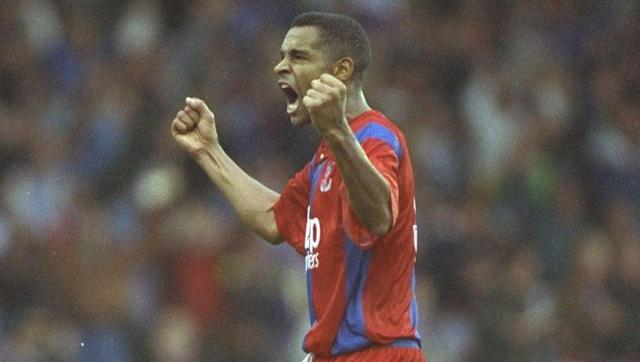 <p><strong>15th August 1992 vs Blackburn Rovers</strong></p> <br><p>Mark Bright scored Crystal Palace's opening goal in the Premier League era in one of his final games for the club before leaving to join Sheffield Wednesday just a few weeks later.</p> <br><p>The forward, who had played in the 1990 FA Cup final against Manchester United, broke the deadlock in a game against Blackburn that finished 3-3. Current England manager Gareth Southgate was also among the Palace scorers that day.</p>