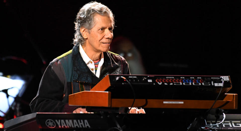 Chick Corea ©Robyn BECK / AFP