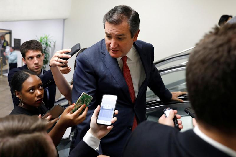 Insurers do not like Ted Cruz's health care plan