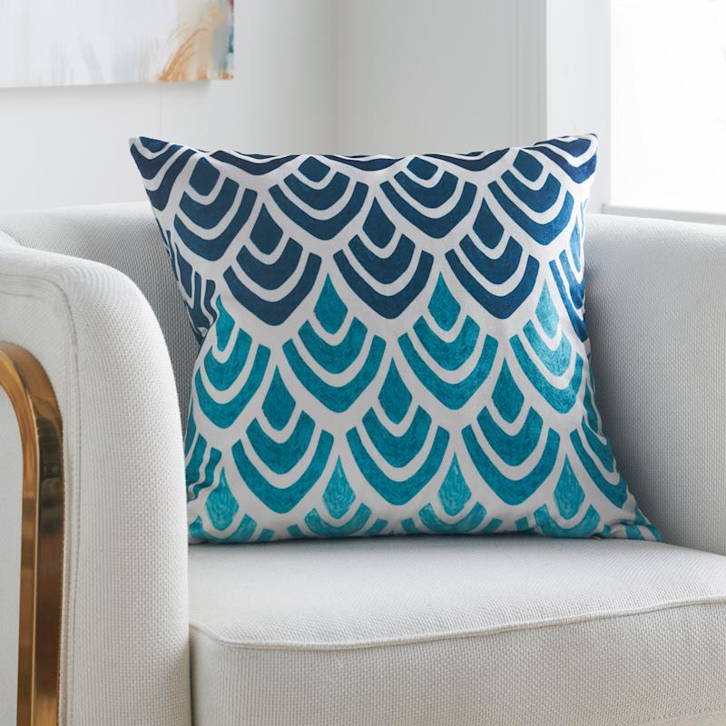 A punch of pattern and color might be just the jolt your living room needs (Photo: Walmart)