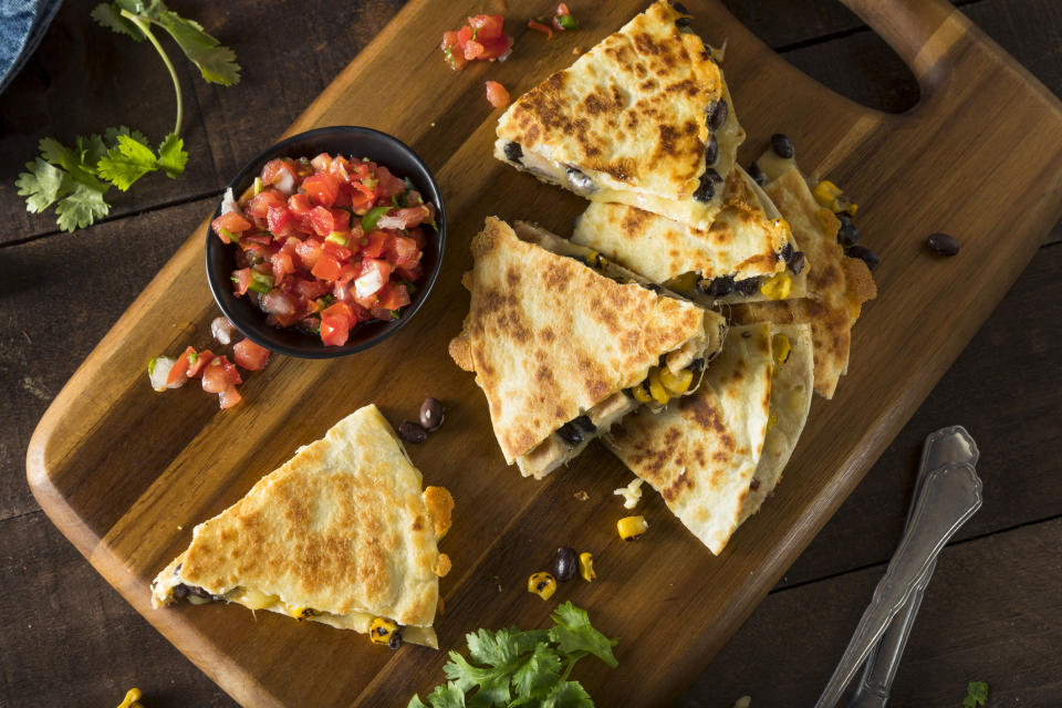 A viral food hack will change the way you make wraps forever. (Getty Images)