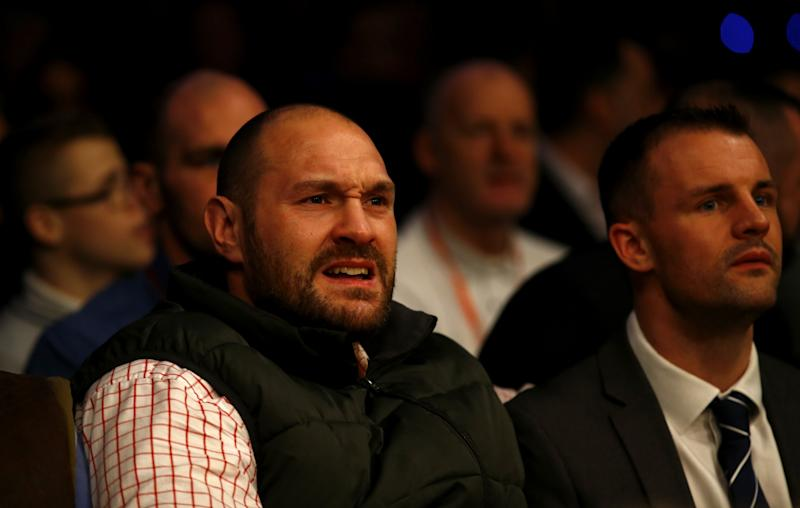 Tyson Fury reveals date for Anthony Joshua fight and promises to deliver 'boxing lesson'