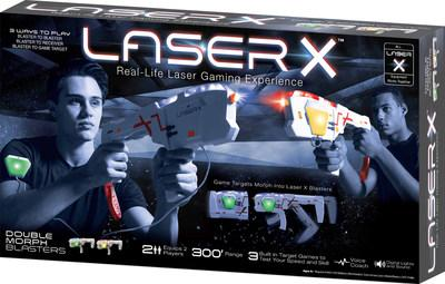 Introducing Laser X Morph - a game target that morphs into a blaster!