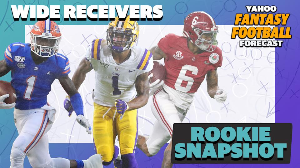 Breaking down the top five receivers from the 2021 NFL Draft.