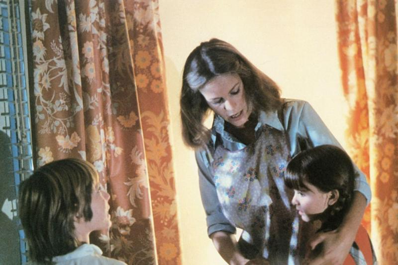 Jamie Lee Curtis and Kyle Richards (right) inHalloween (1978) | Alamy