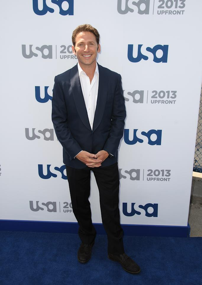NEW YORK, NY - MAY 16:  Mark Feuerstein attends USA Network 2013 Upfront Event at Pier 36 on May 16, 2013 in New York City.  (Photo by Dave Kotinsky/Getty Images)