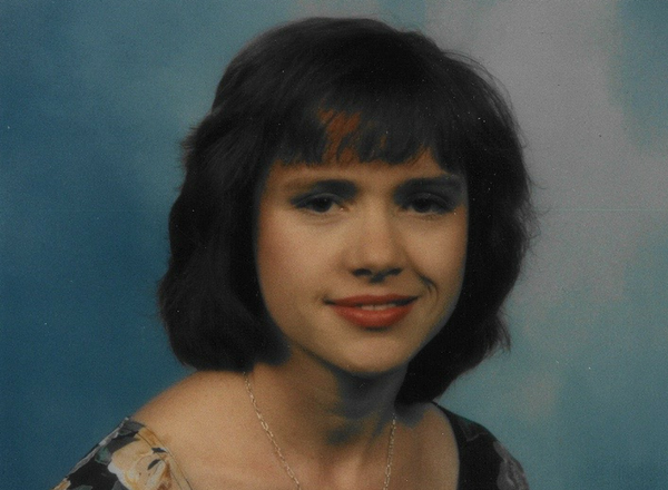 Jen Martin in a photo from 1996, the year she was married.
