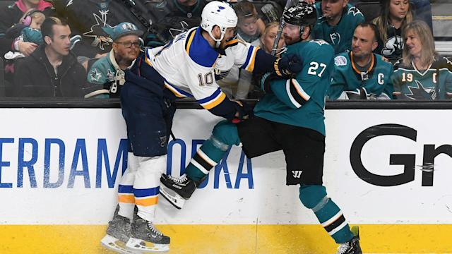 San Jose lost four players to apparent injury during Sunday's Game 5 loss, a scenario that doesn't bode well for Tuesday's deciding Game 6.