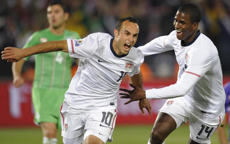 Was the group-winning 2010 United States side the best U.S. World Cup team since the return in 1990? (Getty)
