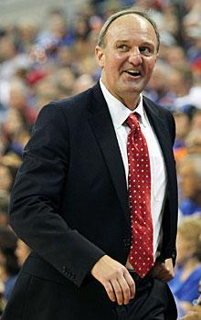 Why is Ohio State coach Thad Matta smiling? It could be the veteran squad he has coming back for 2011-12