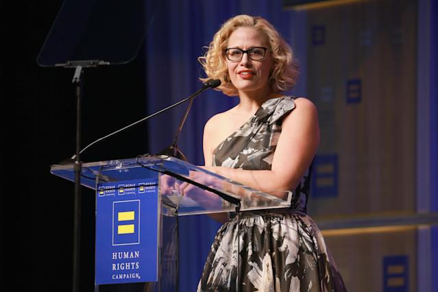 Democratic Rep. Krysten Sinema. (Photo: Rich Fury/Getty Images for Human Rights Campaign (HRC))