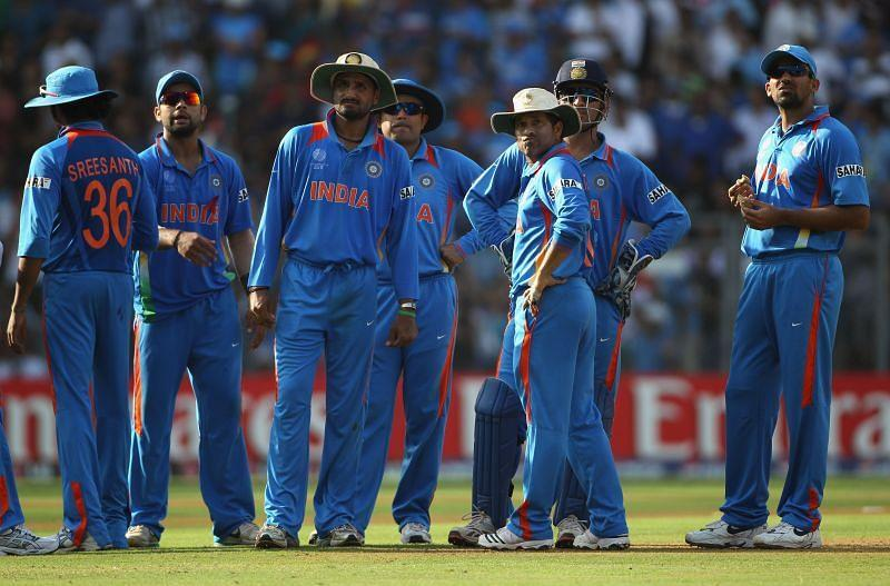 Most players of India's 2011 World Cup-winning team started their careers under Sourav Ganguly.
