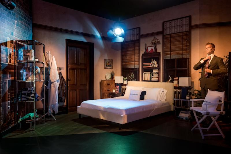 Cozy up to Neil Patrick Harris at Madame Tussauds Orlando. (Booking.com)