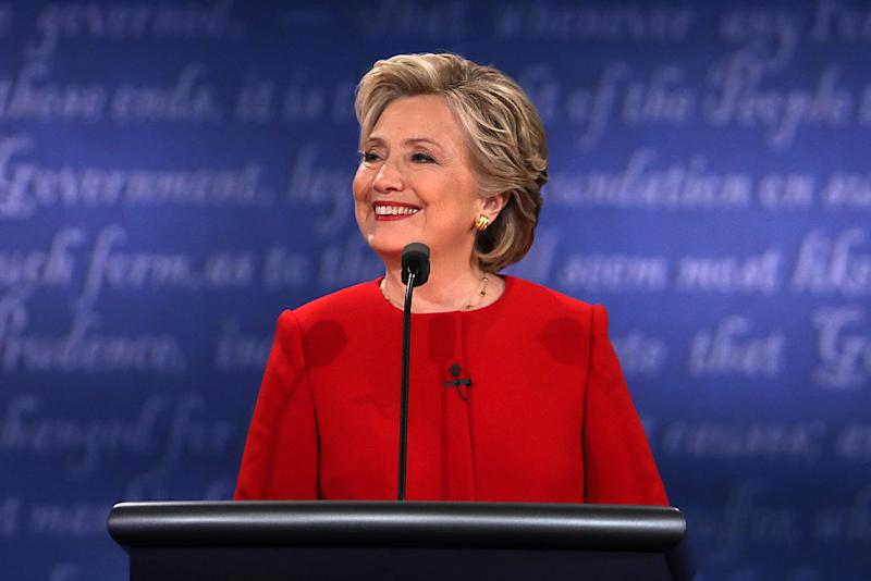 Reebok gives Hillary Clinton's pantsuit the athleisure treatment