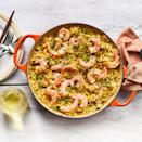 "<p><strong>Recipe: </strong><a href=""https://www.southernliving.com/recipes/skillet-shrimp-destin-orzo"" rel=""nofollow noopener"" target=""_blank"" data-ylk=""slk:Skillet Shrimp Destin with Orzo"" class=""link rapid-noclick-resp""><strong>Skillet Shrimp Destin with Orzo</strong></a></p> <p>This skillet supper is ideal for al fresco dining in the summer. Pair with a cool glass of dry white wine, and voila! You've got a company-ready meal in just 35 minutes. One reader said this her husband asked for this ""fantastic"" recipe to be added to the weekly rotation!</p>"