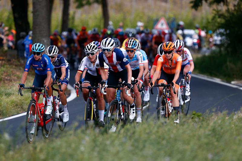 The breakaway at the World Championships