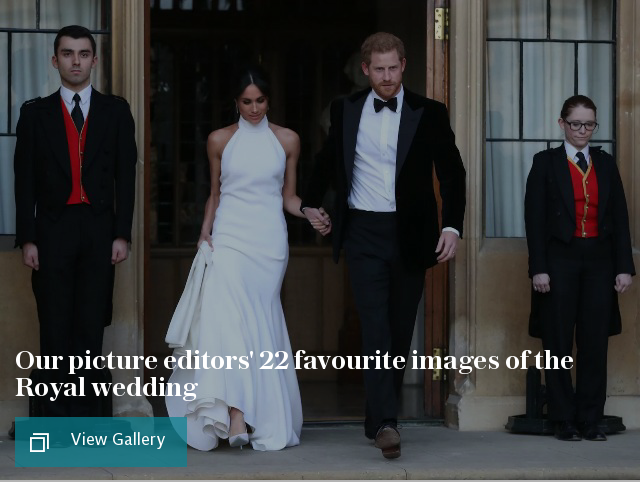 Our picture editors' 22 favourite images of the Royal wedding