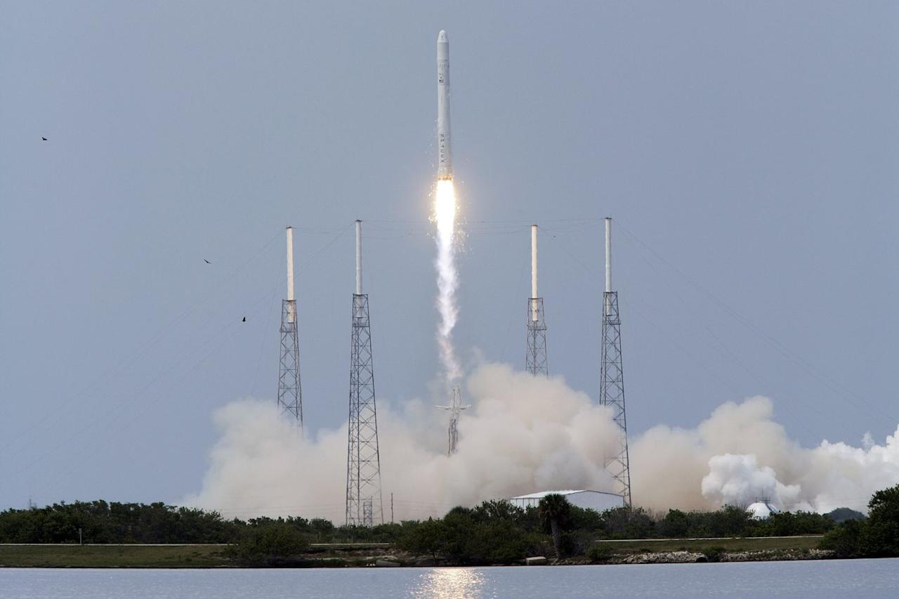 "<p>On June 4, 2010, Falcon 9 nailed its first ever test flight. At 2:45 p.m. local time, the rocket blasted off from the coastal launch pad at Cape Canaveral Air Force Station in Florida. It reached an orbit 155 miles above Earth.</p><p>""We got our Falcon 9 rocket to orbit,"" SpaceX founder and CEO Elon Musk gleefully told reporters at the time. ""It achieved a near bull's eye."" </p>"