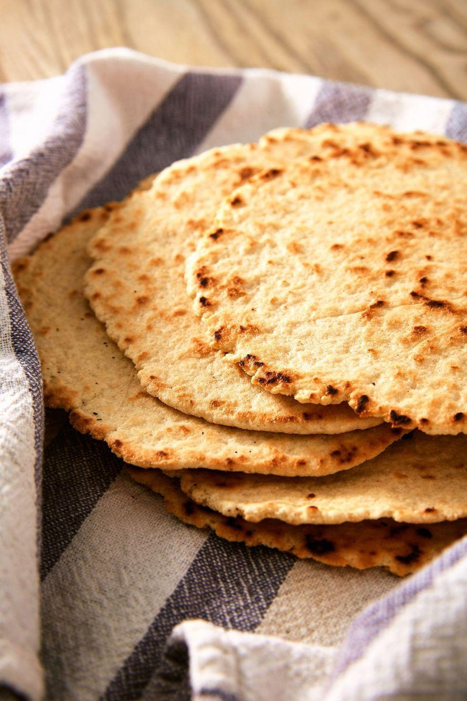"<p>These tortillas are sturdy enough to hold up to whatever you fill them with, and they're ready in under 30 minutes. Bring on Taco Tuesday!</p><p>Get the <a href=""https://www.delish.com/uk/cooking/recipes/a31952619/keto-tortilla-recipe/"" rel=""nofollow noopener"" target=""_blank"" data-ylk=""slk:Keto Tortillas"" class=""link rapid-noclick-resp"">Keto Tortillas</a> recipe.</p>"