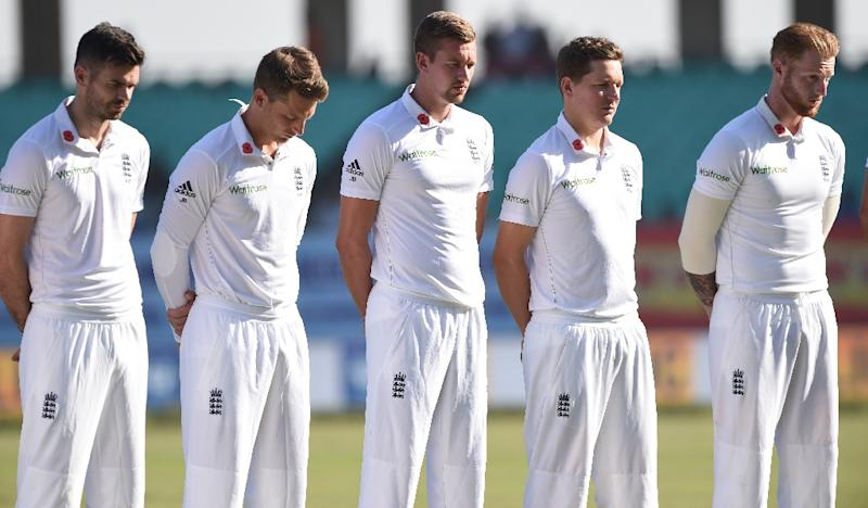 England's cricket side trail India 1-0 following a 246-run defeat in Visakhapatnam and need to claim at least a draw in the third Test to retain a chance of winning the five-match series (AFP Photo/Indranil Mukherjee)