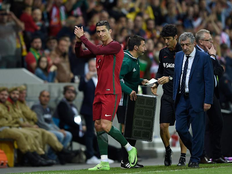 Ronaldo's goal wasn't enough to help secure victory for Portugal: Getty