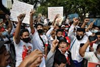 A military coup back home has sent shockwaves through the Myanmar migrant community in Thailand, who have begun staging near daily protests across Bangkok
