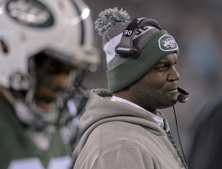 Coach Todd Bowles and the Jets look like they're in for a long season. (AP)