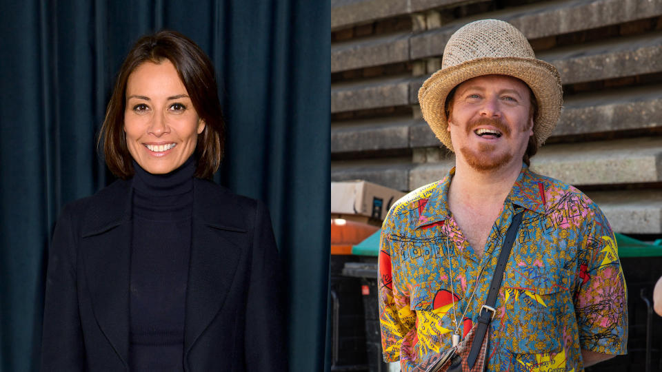 Melanie Sykes said she was upset by comments Keith Lemon made while filming 'Through the Keyhole'. (Dave J Hogan/Phil Lewis/SOPA Images/LightRocket/Getty Images)