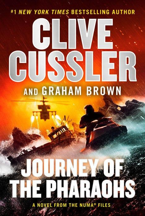 """""""Journey of the Pharaohs,"""" by Clive Cussler and Graham Brown."""