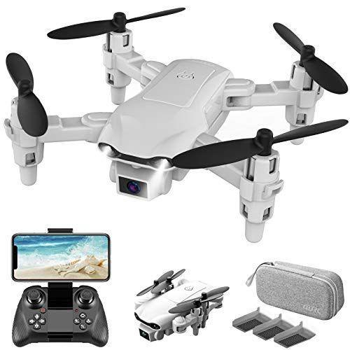 "<p><strong>DRONEEYE</strong></p><p>amazon.com</p><p><strong>$49.99</strong></p><p><a href=""https://www.amazon.com/dp/B08MQMWVRC?tag=syn-yahoo-20&ascsubtag=%5Bartid%7C10050.g.29775459%5Bsrc%7Cyahoo-us"" rel=""nofollow noopener"" target=""_blank"" data-ylk=""slk:Shop Now"" class=""link rapid-noclick-resp"">Shop Now</a></p><p>Made for beginners, this drone with a camera will keep him entertained for hours. </p>"