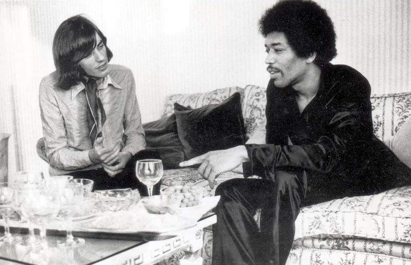 Jimi Hendrix during what would be his last interview, with journalist Stephen Clackson, in August 1970. The article appeared in the Sunday Mirror two days after Hendrix diedRex