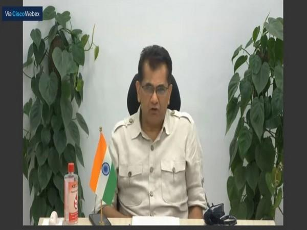 NITI Aayog CEO Amitabh Kant, during the launch of this event (Photo/Twitter)